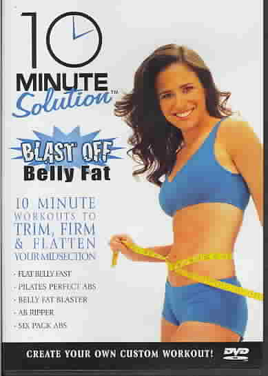 10 MINUTE SOLUTION:BLAST OFF BELLY FA (DVD)